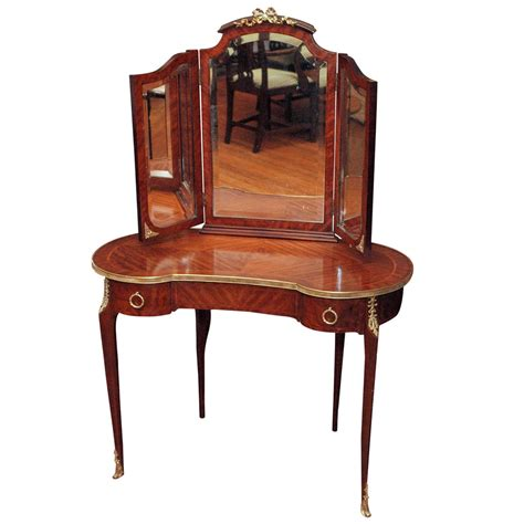 antique vanity table antique mahogany dressing table at 1stdibs