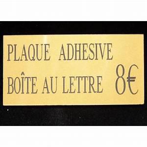 Plaque Boite Aux Lettres Adhesive : plaque boite aux lettres les diff rents mod les sur le march ~ Melissatoandfro.com Idées de Décoration