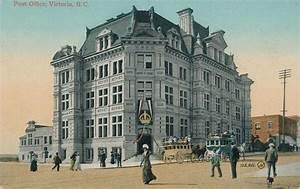 Postcard: Post Office, Victoria, BC, c.1910 | Flickr ...