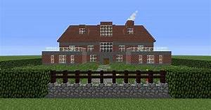 Modern Brick Mansion Minecraft Project