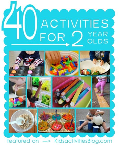40 activities for two year olds activities