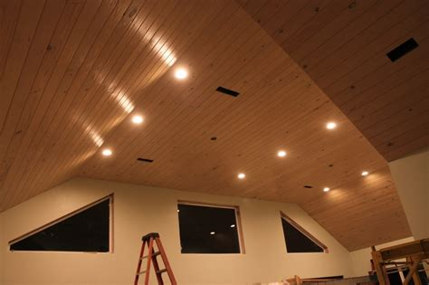 pickled  notch pine ceiling  south alabama sunroom