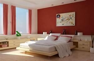 Peinture Chambre Adulte 2 Couleurs : peinture de la chambre 30 id es en attendant le printemps ~ Zukunftsfamilie.com Idées de Décoration