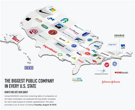 The biggest public company in every U.S. State ...