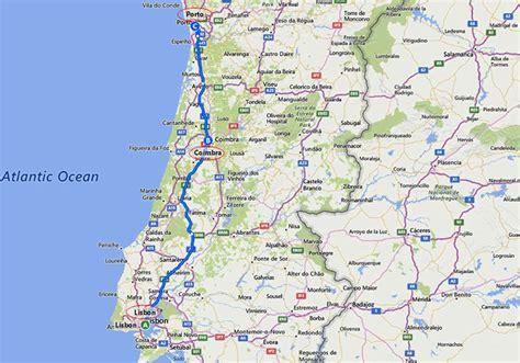 Porto To Lisbon by Sle Itineraries Lisbon Coimbra And Porto Portugal