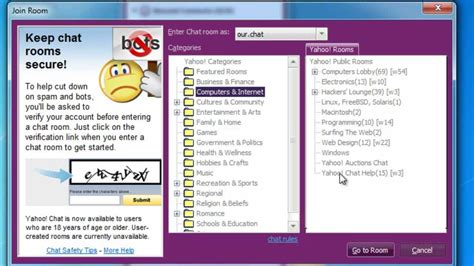 Does Anyone Miss The (mostly) Anonymous Chat Rooms Back In