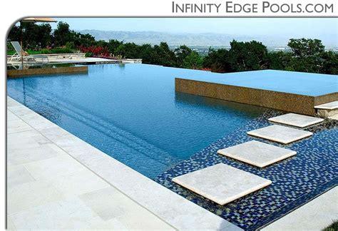 pools infinity edge pools custom swimming pool