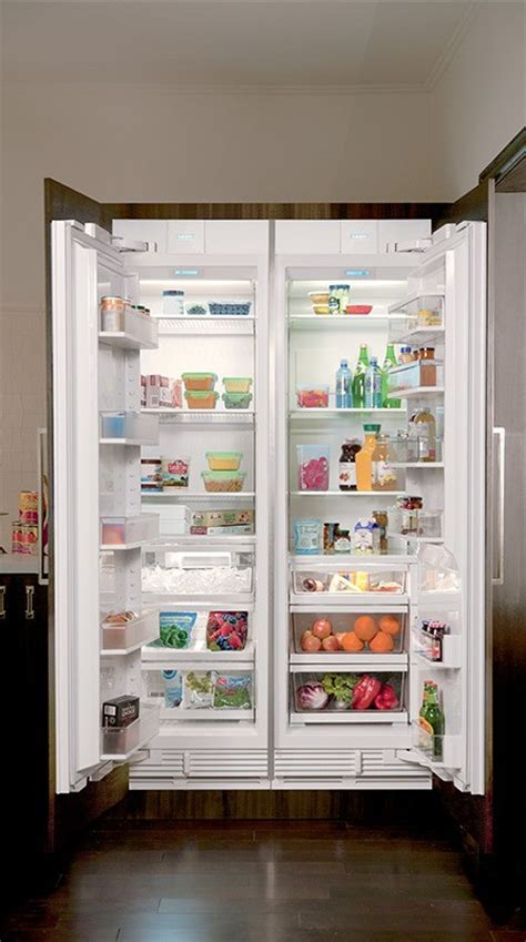 "Sub Zero IC 24R LH 24"" Integrated All Refrigerator Column"