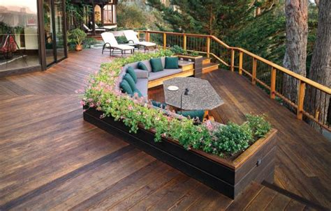 and grey kitchen ideas how to spruce up a worn out deck this house