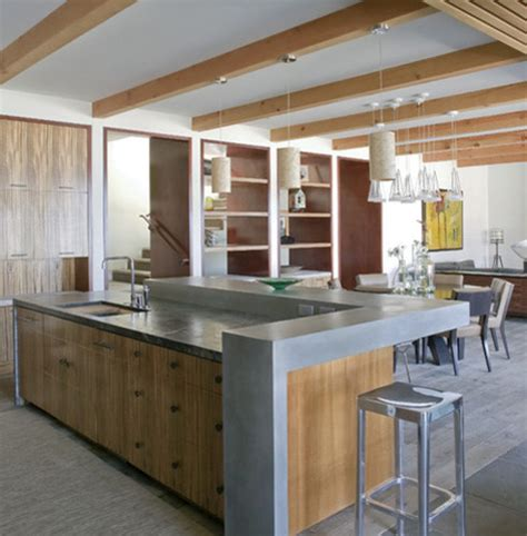 raised kitchen island how to make your kitchen more social 1714