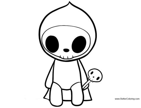 tokidoki coloring pages adios  printable coloring pages