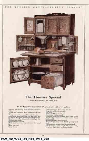 Hoosier Cabinet Plans   DIY   MOTHER EARTH NEWS