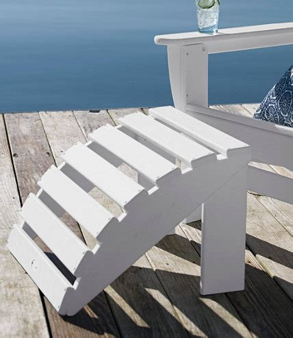 lifetime adirondack footstool plans diy free