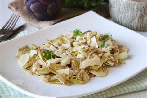 ricette per cucinare carciofi 187 insalata di carciofi ricetta insalata di carciofi di misya