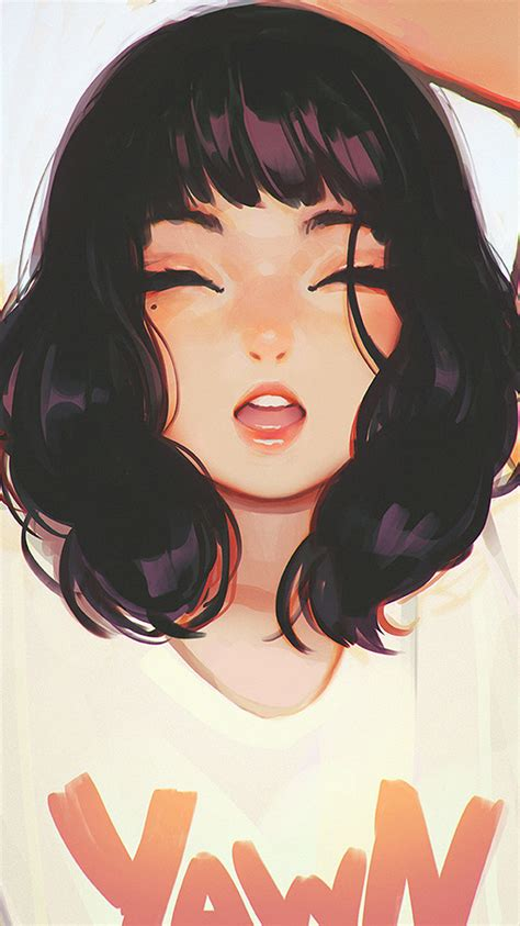 They think of a charming this collection contains the most girlish coloring pages to make the dreams of your little princess. ax04-girl-smile-ilya-kuvshinov-illustration-art-wallpaper
