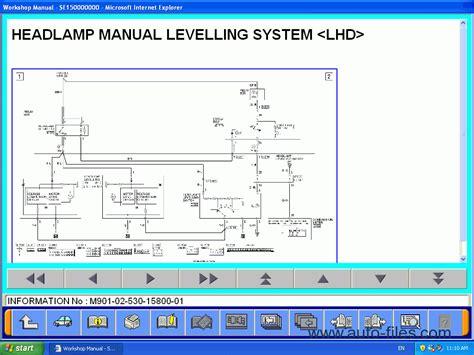 mitsubishi l200 kb 2007 repair manuals wiring diagram electronic parts catalog