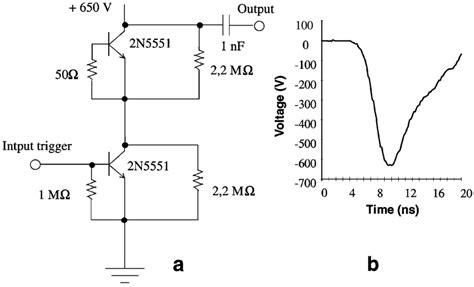 High Voltage Pulse Generator Circuit Pgc
