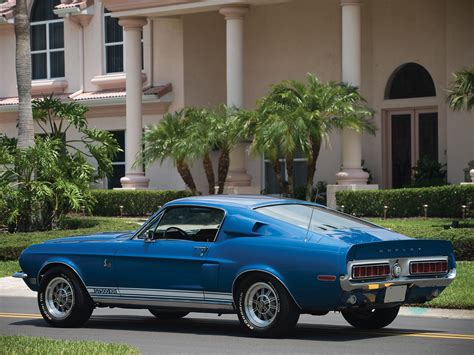 Gt 500kr by 1968 Shelby Gt500 Kr Gt500 Ford Mustang Classic D