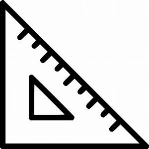 Rule Triangle Ruler Scale Measure Tool Svg Png Icon Free ...