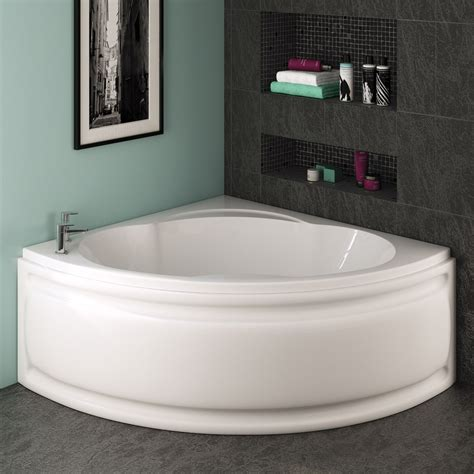 trojan laguna corner bath   mm  panel