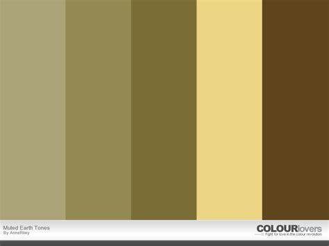 Tones Earth Tone Color Scheme Combinations Gradient