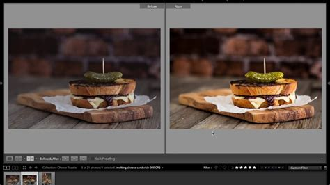 food photography lightroom tutorial youtube