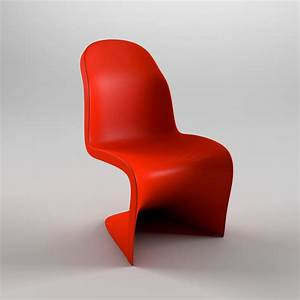 Panton Chair Original : 3d model panton chair ~ Michelbontemps.com Haus und Dekorationen