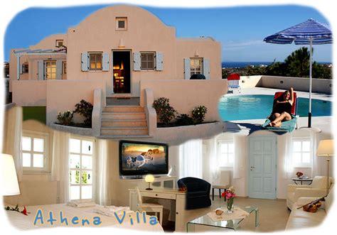 appartamenti fira santorini villa athena fira santorini con piscina