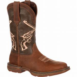 Blundstone Boots Size Chart Men 39 S Crossed Guns Brown Western Boot Rebel By Durango
