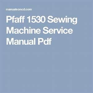 Pfaff 1520