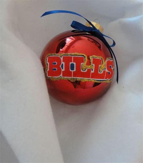 nfl buffalo bills 4 quot christmas ornaments handmade diy