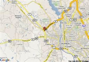 Phenix City Alabama Map