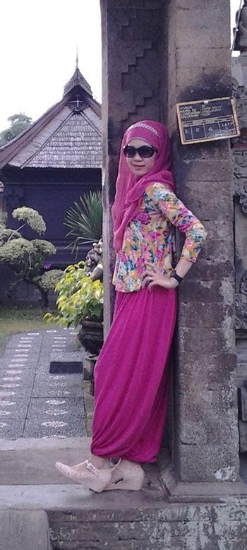 hijab fashion style  motif bunga tutorial hijab