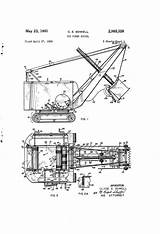 Shovel Power Drawing Patents Patent Toy Pages sketch template