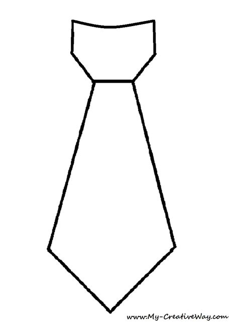 Tie Template Free Coloring Pages Of Bow Tie