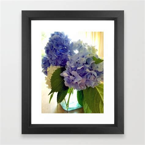 2,042 hydrangea wall products are offered for sale by suppliers on alibaba.com, of which decorative flowers & wreaths accounts for 51%, artificial plant accounts for 2%, and other home decor accounts. Hydrangea Bouquet Framed Art Print by bettymackey | Society6
