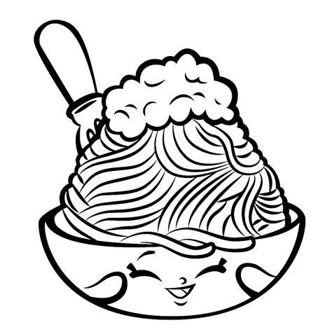 Kleurplaat Chocolade by Leuk Voor Netty Spaghetti