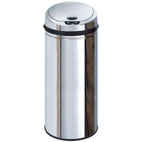poubelle de cuisine 50 litres poubelle automatique 50 litres couvercle chromé achat