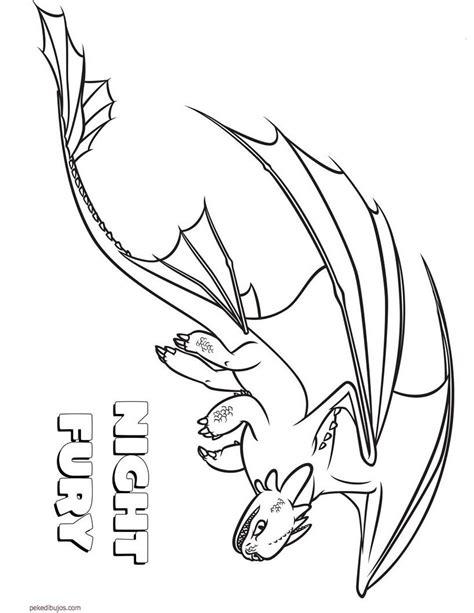 Dibujos De Cómo Entrenar A Tu Dragón Para Colorear
