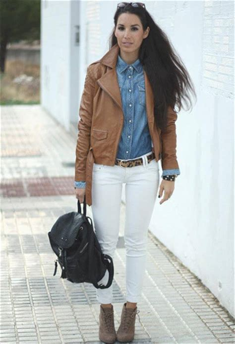 14 Unique Brown Leather Jackets Trend For Womenu0026#39;s | NewNist