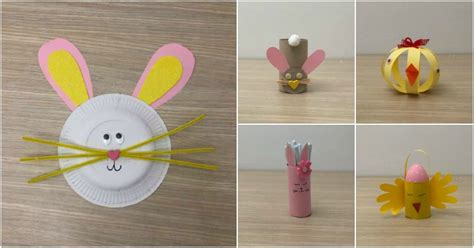 easy easter crafts  kids    minutes diy