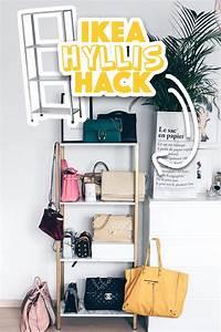Taschen Platzsparend Aufbewahren : ikea hyllis hack meine diy taschen aufbewahrung im ankleideraum life und style blog aus ~ Watch28wear.com Haus und Dekorationen