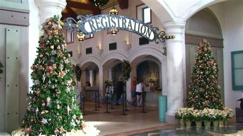 disneys coronado springs resort christmas decorations