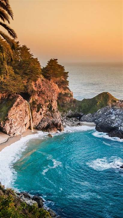 4k Portrait Wallpapers Ultra Ocean California Pacific