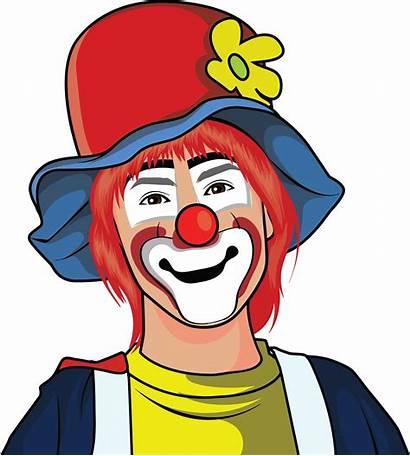 Clown Illustration Clipart