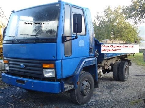 Iveco Ford Iveco Dc 1989 Chassis Truck Photo And Specs