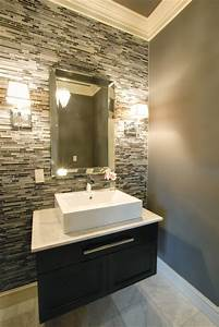 powder room contemporary powder room other metro With kitchen cabinet trends 2018 combined with be our guest wall art