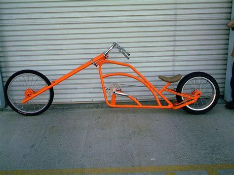 Orange Landway Chopper Bicycle