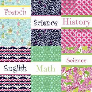 Mississippi Queen: DIY: Preppy Binder Covers