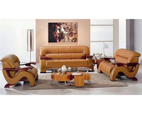 leather look sofa set modern style bonded leather sofa set 44l6085